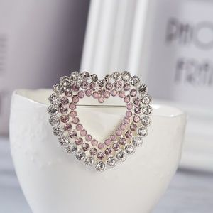 Pretty Heart Brooch
